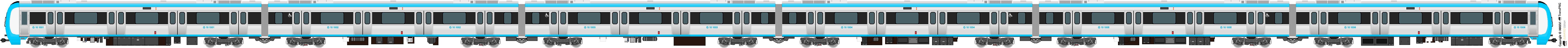 鐵路列車 5563