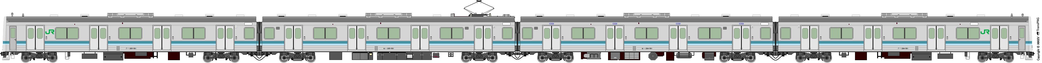 鐵路列車 5567
