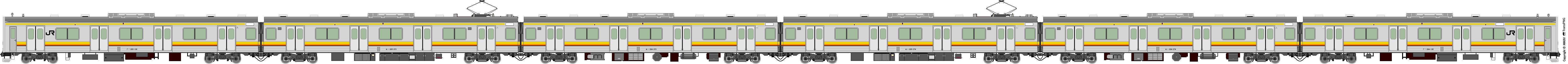 鐵路列車 5571